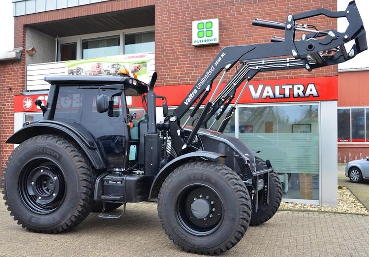 Valtra N163 Knicklenker