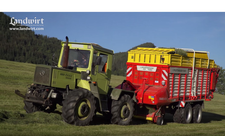 Pöttinger Ladewagen